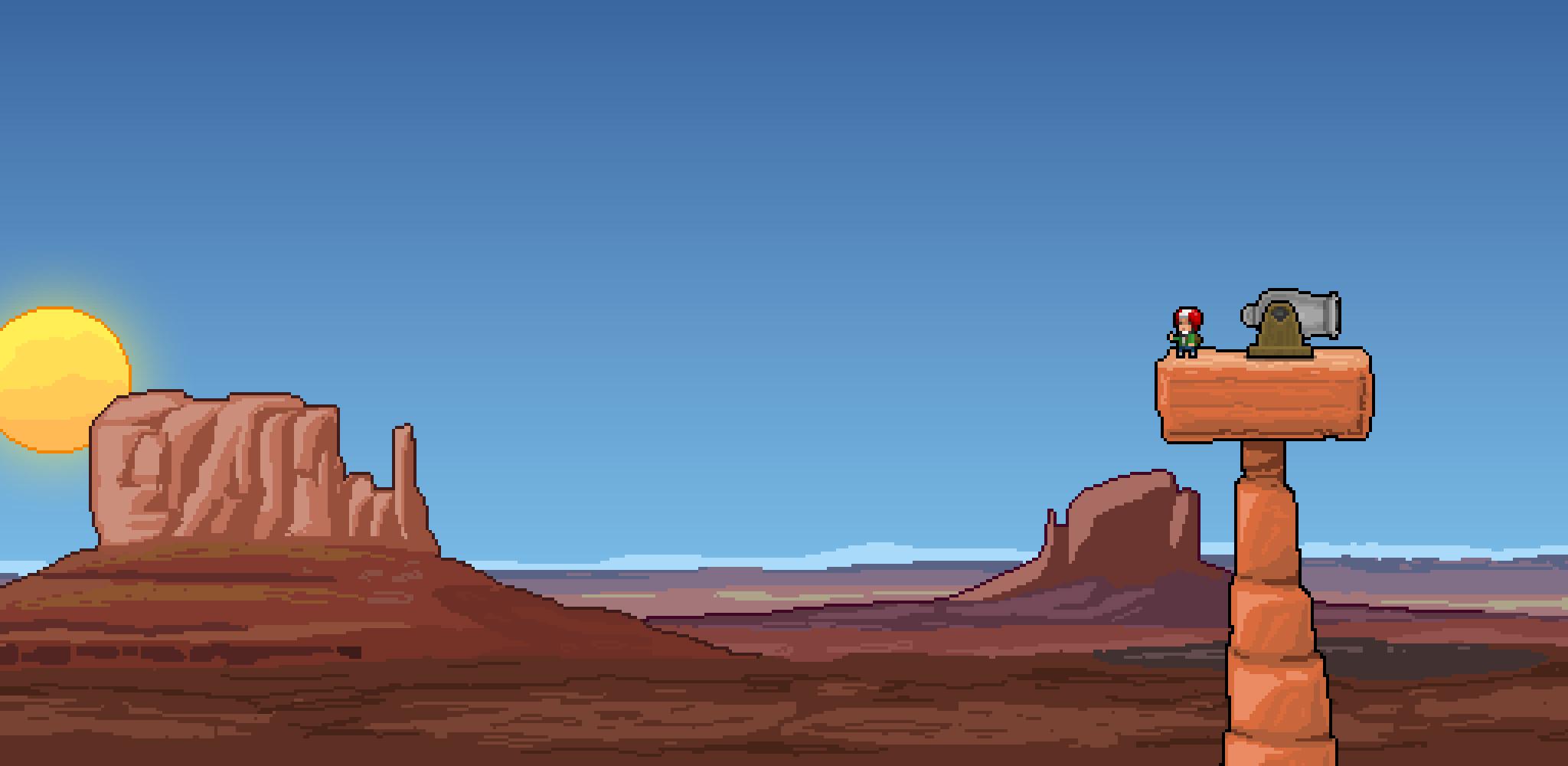 Human Cannonball Desert